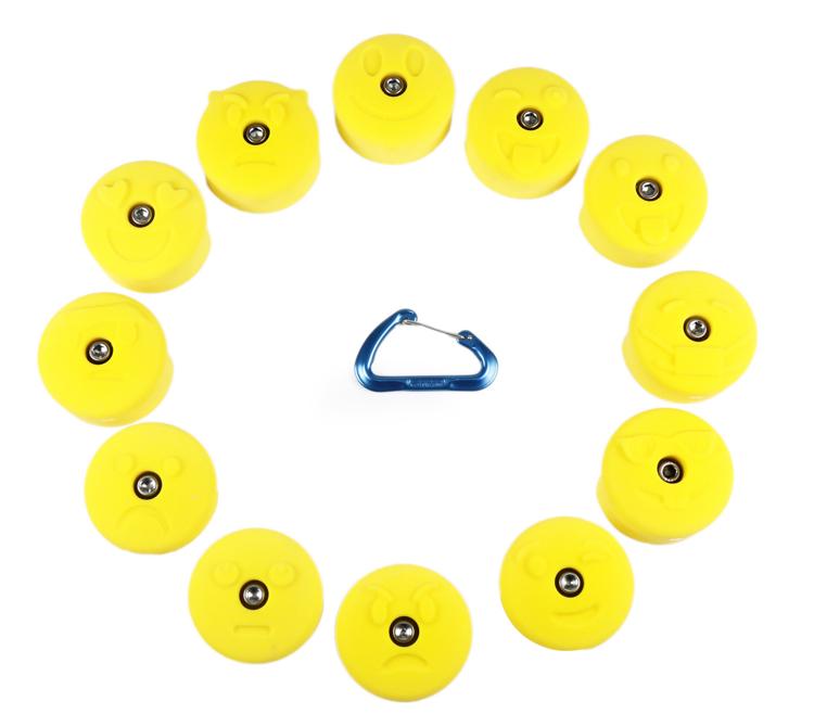 Picture of 12 Medium Emoji Jugs
