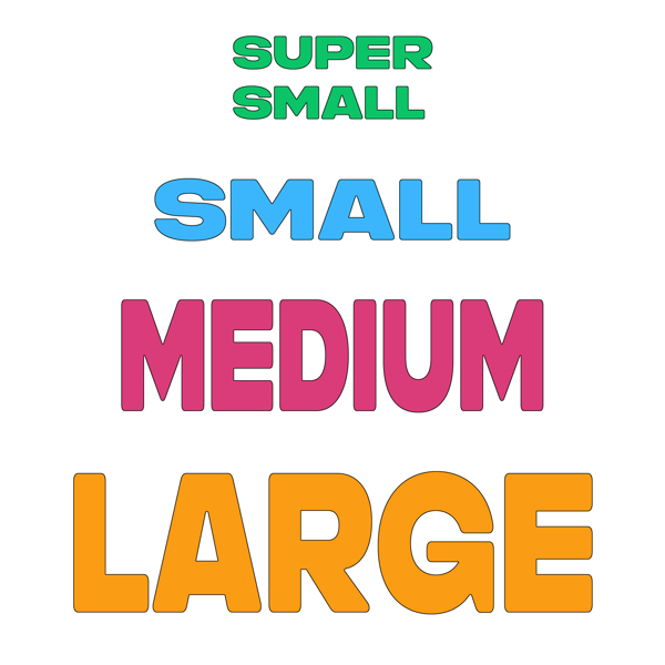 Picture for category Holds By Size (Bolt-On)