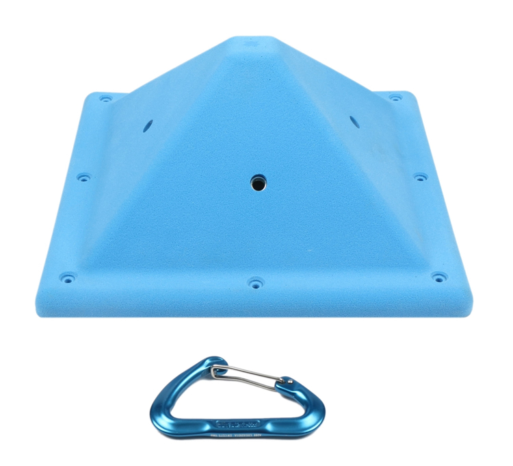 """Picture of DEAL OF THE DAY Screw-on Square Volume ( 4"""") BLUE"""