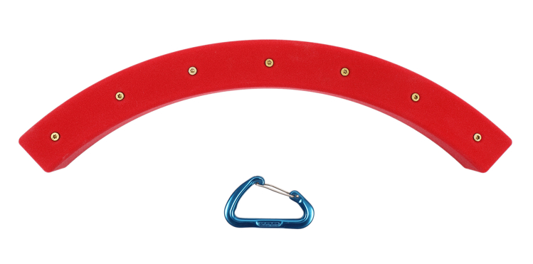 Picture of DEAL OF THE DAY 6 Pack of ARCHED Obstacle Course Rails (Screw-On) RED