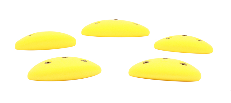 Picture of 5 Medium Steep Wall Oval Crimps (Screw On) Set #1