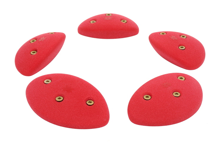 Picture of 5 Medium Steep Wall Oval Crimps (Screw On) Set #2
