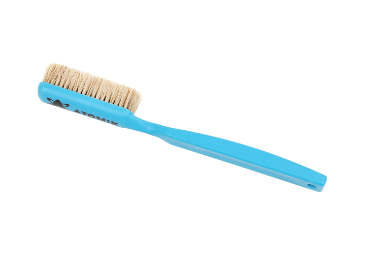 Picture of Small Boar's Hair Hold Cleaning Brush (Blue Handle)
