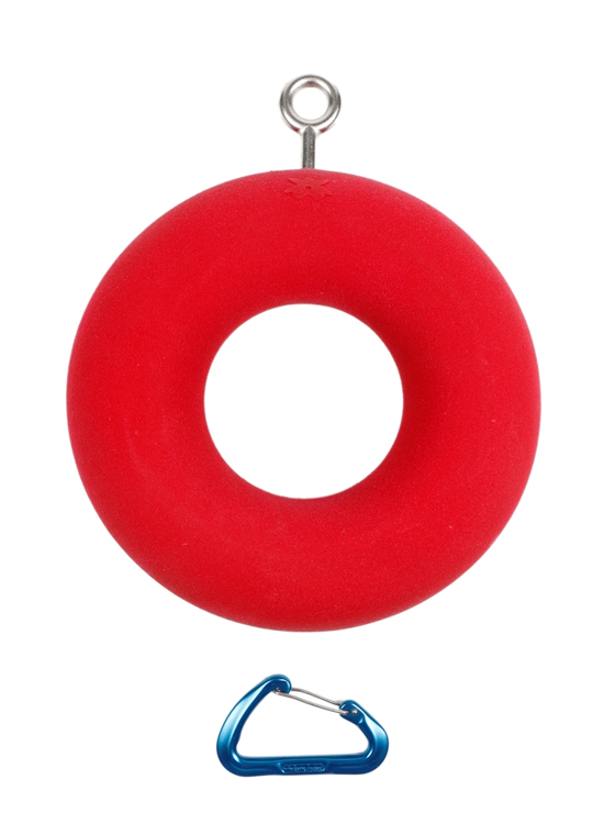 Picture of DEAL OF THE DAY Single XXL Donut Ring RED