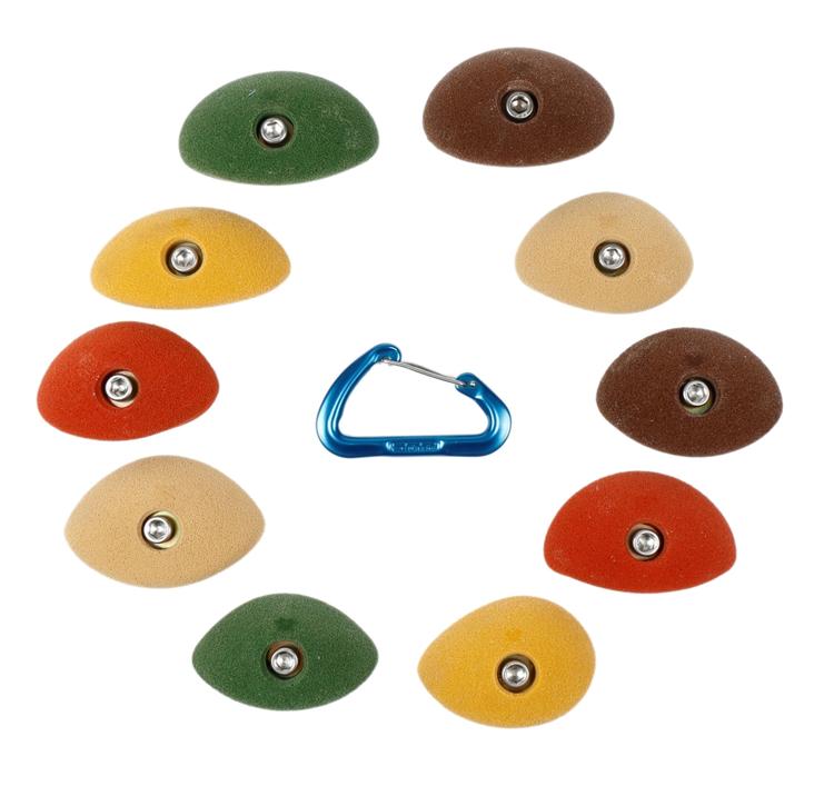 Picture of DOD 10 Small Simple Crimps Set #3 RANDOM COLORS
